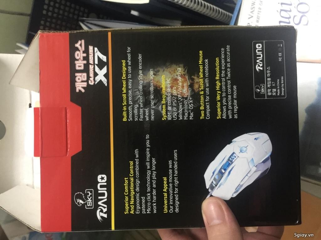 Bàn Phím Cơ Có Dây Dragon War GK-007 RGB Blue Switch Full-size - 5