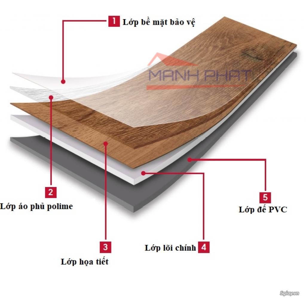Sàn nhựa giả gỗ sẵn keo tự dính giá rẻ