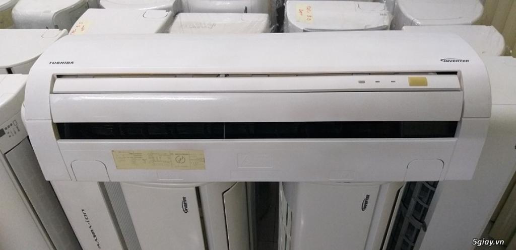 Máy lạnh cũ nội địa nhật Toshiba vào mùa mưa bão