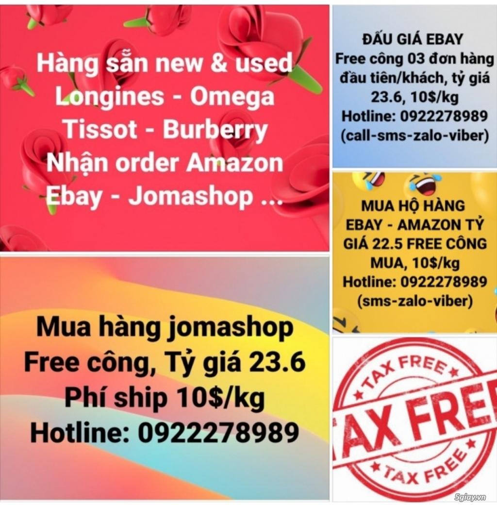 Giảm 10% PHÚC (Longines - Omega - Tissot... ), nhận mua hộ - đấu giá free công, free tax, tỷ giá tốt - 40