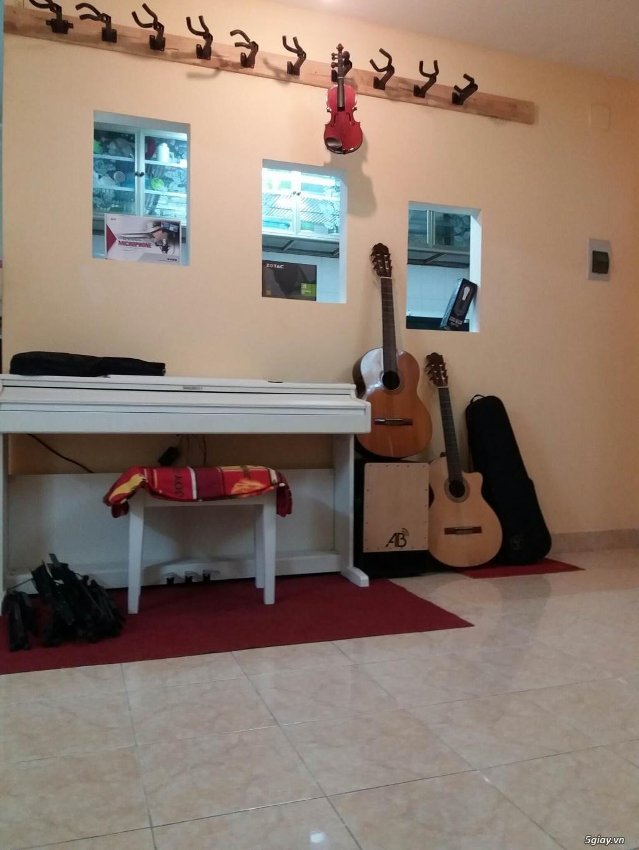 Cho thuê phòng tập Piano, Guitar... hợp tác giáo viên muốn mở lớp nhạc - 2
