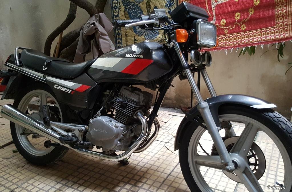 Bán xe Honda CBT 125 màu nòng súng