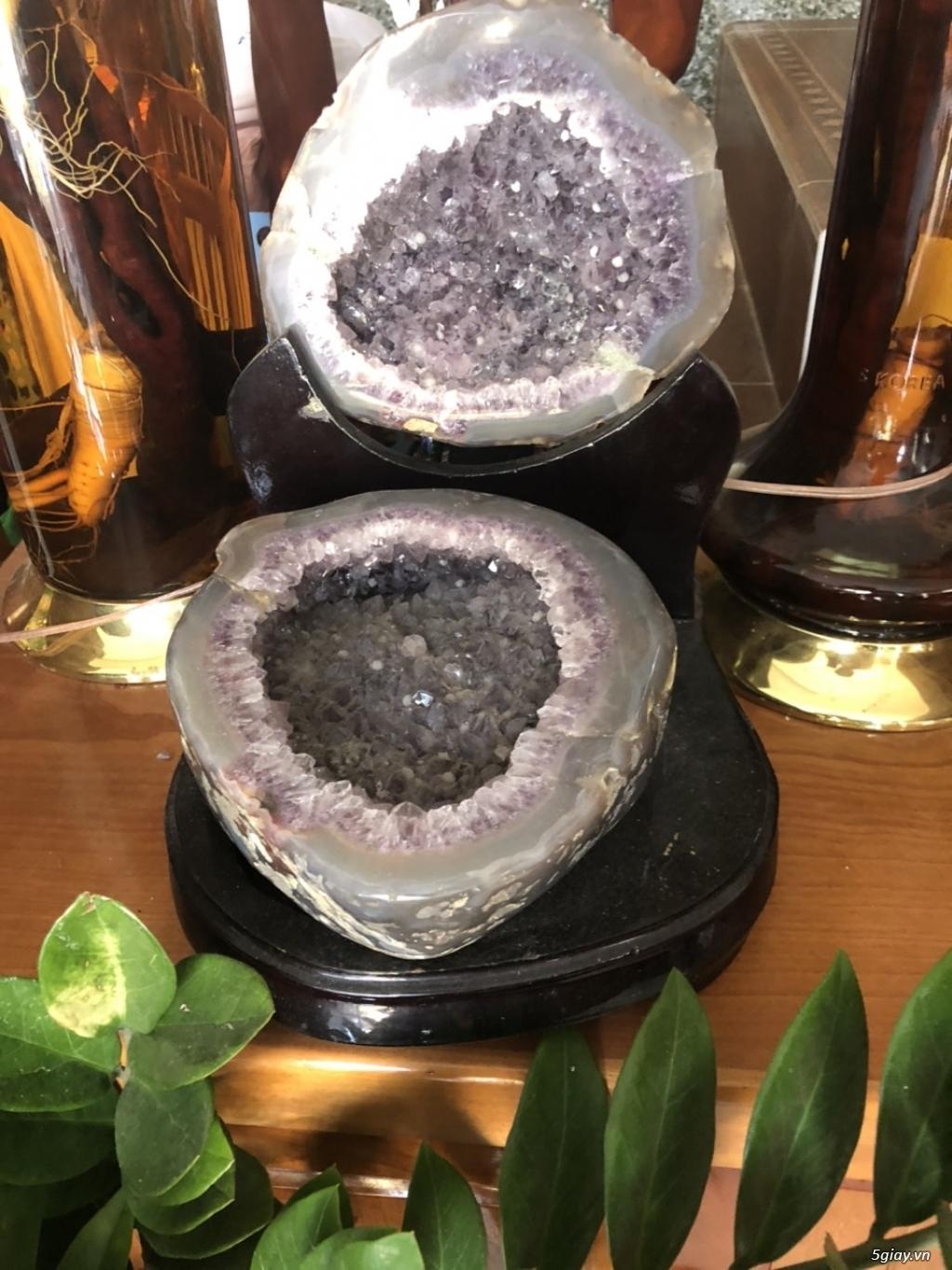 đá phong thủy - bát tụ tài thạnh anh tím - 4