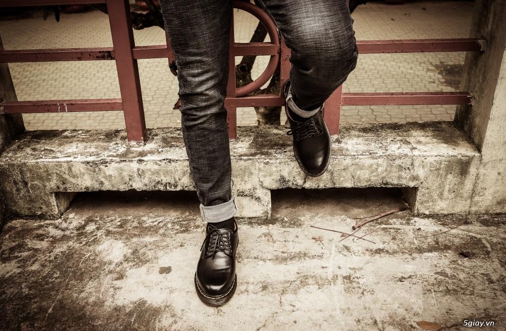 [ zadep.com ] Giày da nam 8053 cổ thấp nhập khẩu thailand - 5