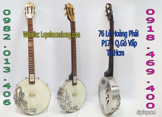Bán đàn banjo ngoại nhập giá rẻ tại nhạc cụ Nụ Hồng