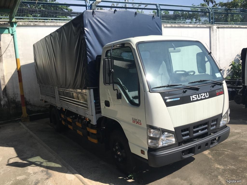 ISUZU 2T2 thùng bạt 4.3m, KM Trước bạ, 200L Dầu, 2 vỏ xe - 4