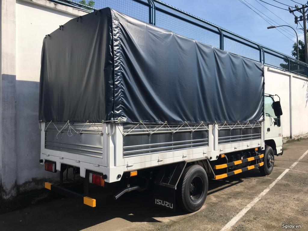 ISUZU 2T2 thùng bạt 4.3m, KM Trước bạ, 200L Dầu, 2 vỏ xe - 2