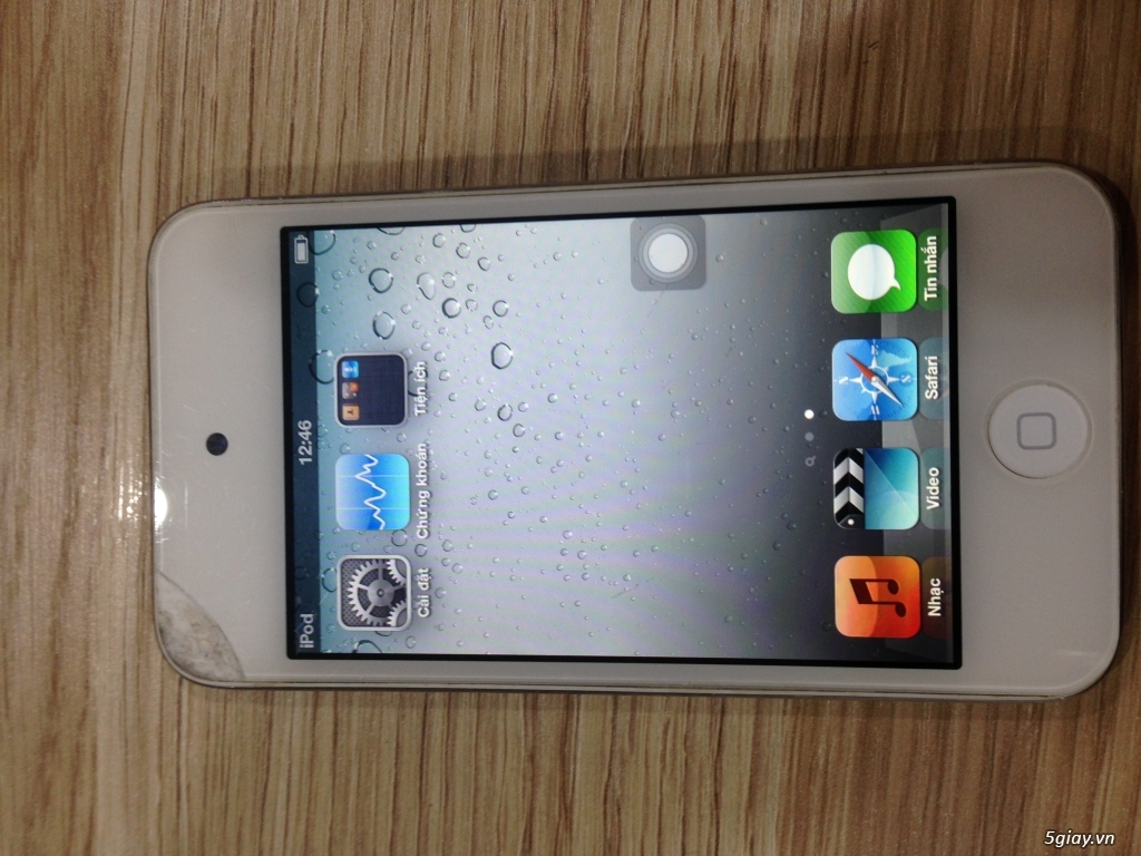thanh lý em ipod touch 4 còn sử dụng tốt