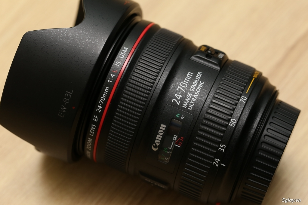 #ThienLongCamera Canon EF 24-70mm f/4L IS USM - 3