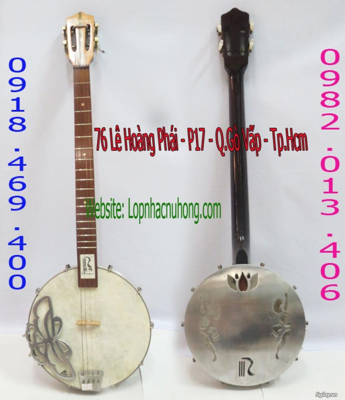 Bán đàn banjo ngoại nhập giá rẻ tại nhạc cụ Nụ Hồng - 2