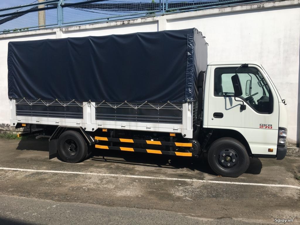 ISUZU 2T2 thùng bạt 4.3m, KM Trước bạ, 200L Dầu, 2 vỏ xe - 5