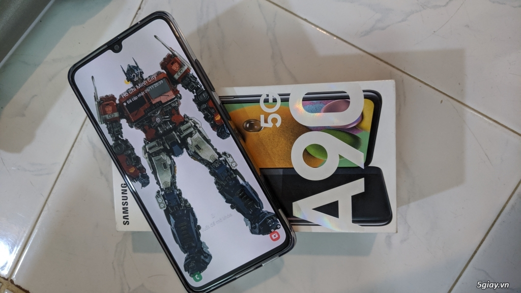 Samsung A90 5G, chip snap 855, fullbox, đủ đồ