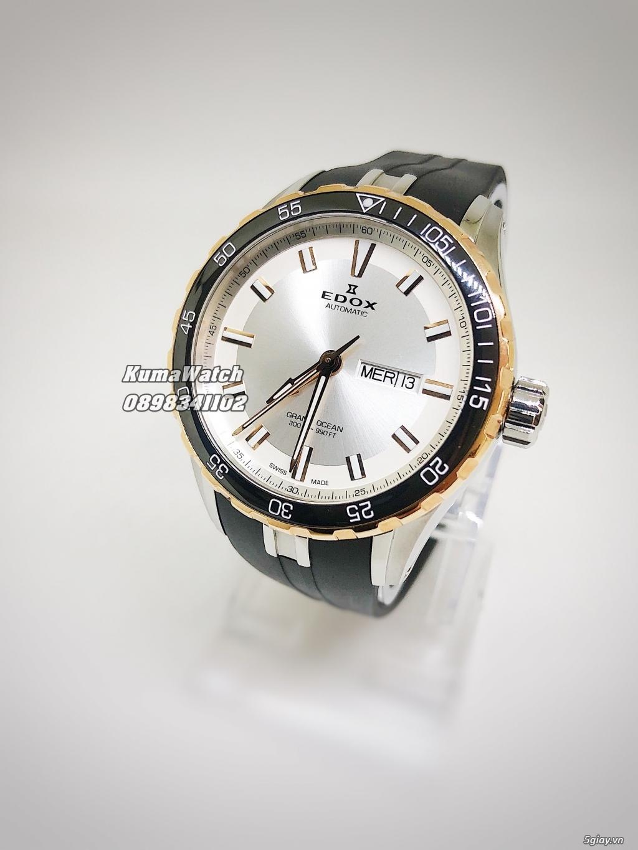 [KumaWatch] Edox Grand Ocean, Tissot Diamond- Swiss Made Automatic - 15