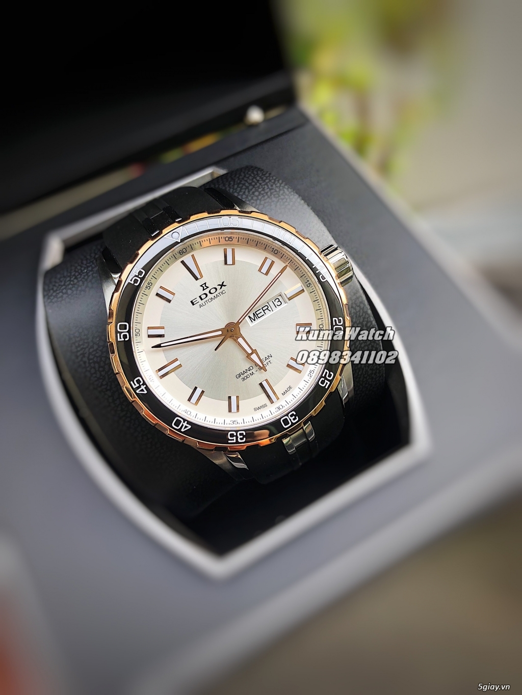 [KumaWatch] Edox Grand Ocean, Tissot Diamond- Swiss Made Automatic - 7