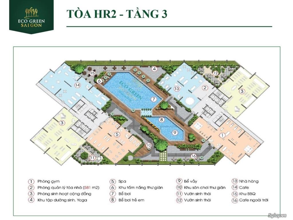 Eco Green Sài Gòn quận 7 - Mở bán đợt cuối tòa HR1, M2 & Ưu đãi đặc bi - 6