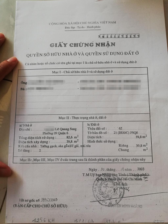 Bán nhà hẻm Lê Quang Sung Quận 6 - 4
