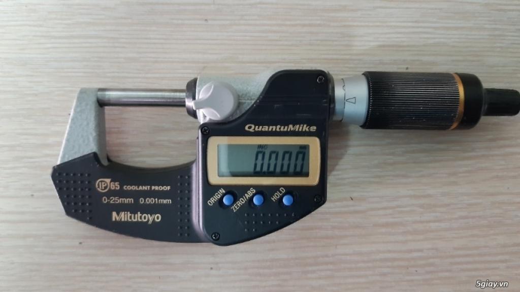 Dụng cụ đo, Thước cặp cơ khí, panme, đồng hồ so, dụng cụ gắt gọt - 1