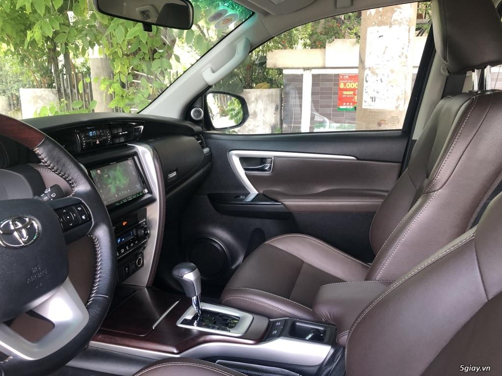 Toyota Fortuner model 2018 máy xăng, số tự động. xe toàn để nhà. - 8