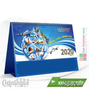 Chuyên in ấn name card, Brochure-Tờ rơi-Catalogue-lịch để bàn giá tốt