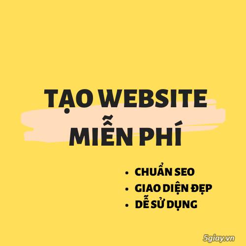 TẠO WEBSITE BÁN HÀNG MIỄN PHÍ - 1