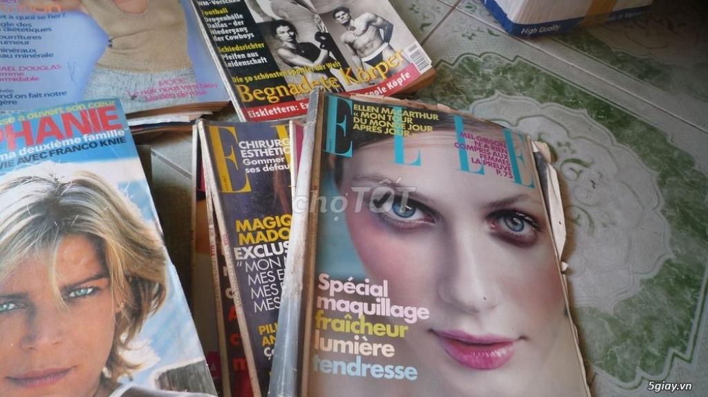 35 cuốn tạp chí ngoại củ , bán tất cả giá 500k - 2