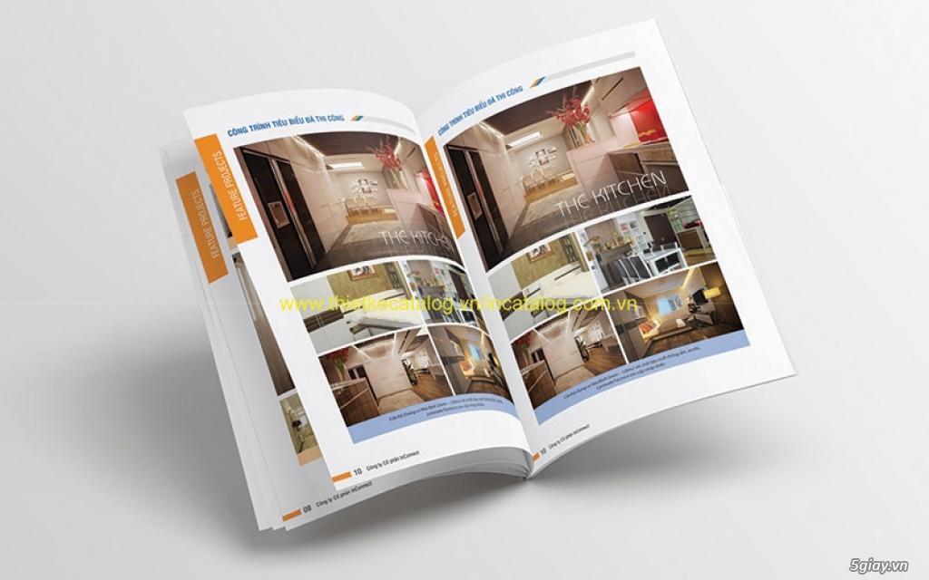 Chuyên in ấn name card, Brochure-Tờ rơi-Catalogue-lịch để bàn giá tốt - 1