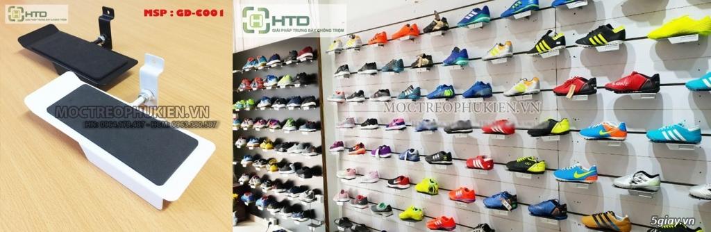 Giá kệ trưng bày giày dép cho shop thời trang năm 2019 - 15