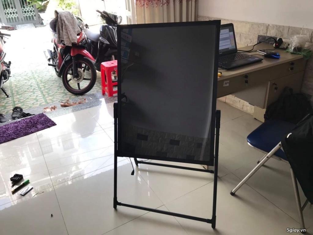 Bảng led huỳnh quang ghi menu cho Quán Ăn- Trà Sữa- Nail- Spa- Trà Cha - 2