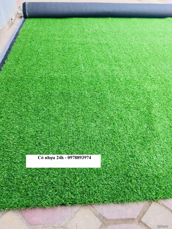 Thảm cỏ nhựa nhân tạo trang trí