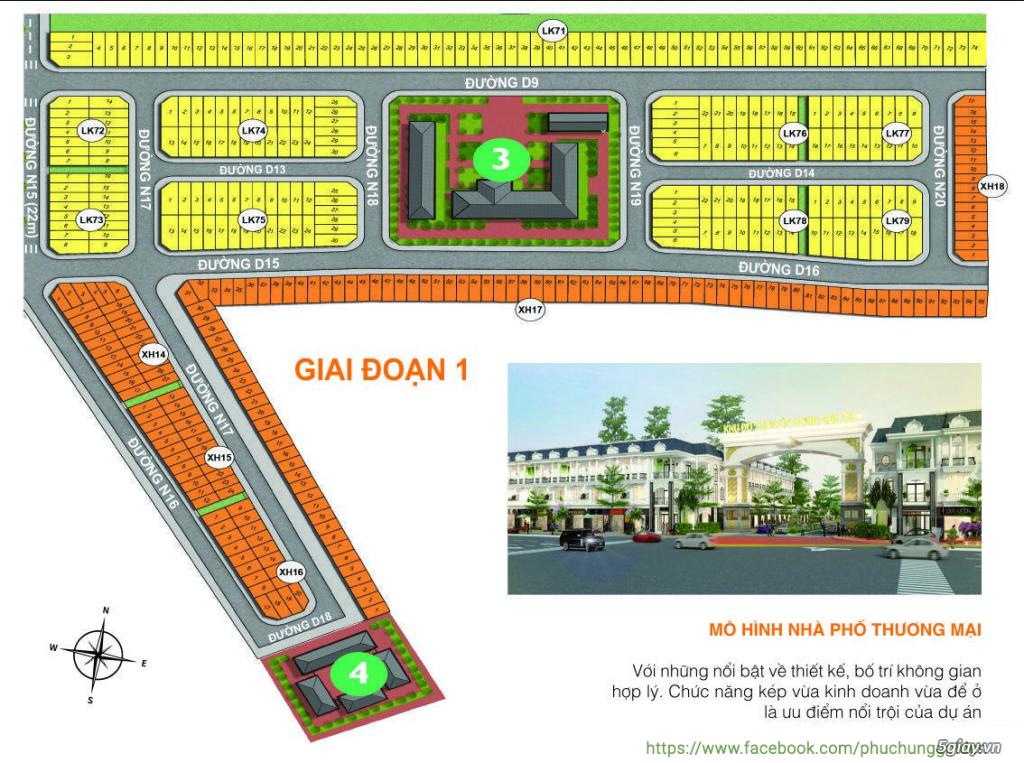 Mặt bằng dự án Phúc Hưng Golden City| Phòng kinh doanh (0365282838) - 1