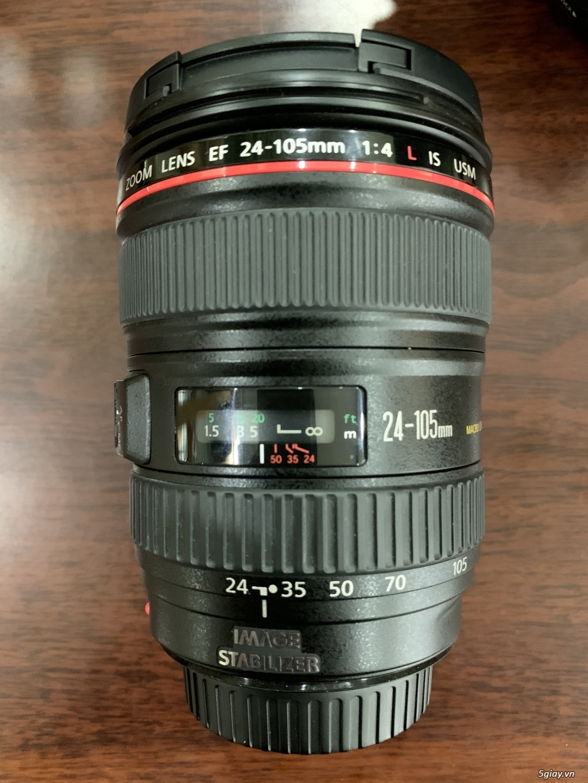 Cần bán Canon 6D, lens canon 24-105 1:4L IS USM, lens canon 85mm 1:1.8 - 4