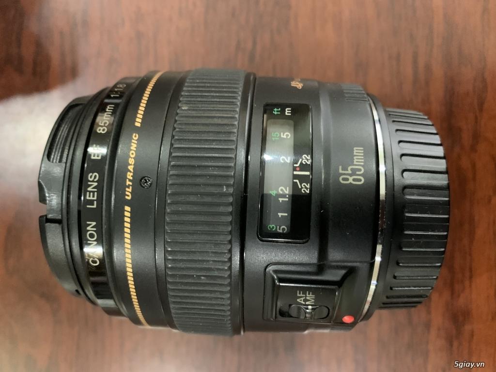 Cần bán Canon 6D, lens canon 24-105 1:4L IS USM, lens canon 85mm 1:1.8 - 2