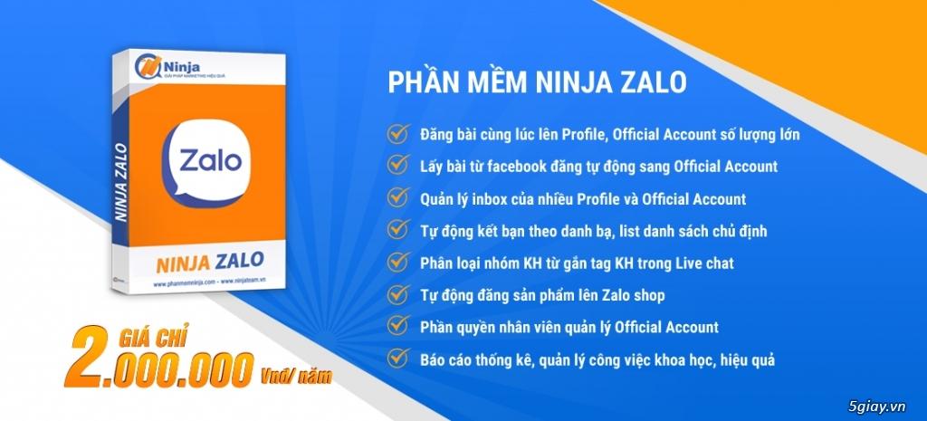 Bán hàng hiệu quả với Ninja Zalo