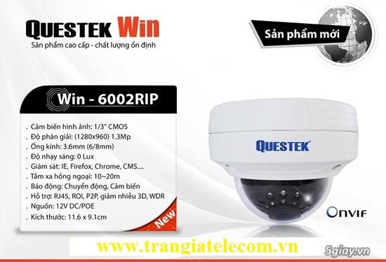 Camera IP Dome mini QUESTEK Win-6002RIP-Đầu ghi 16 kênh AHD 16 kênh