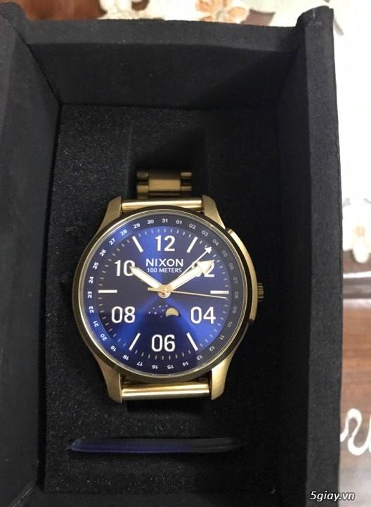 Đồng hồ Nixon, giày adidas ultra boost - 2