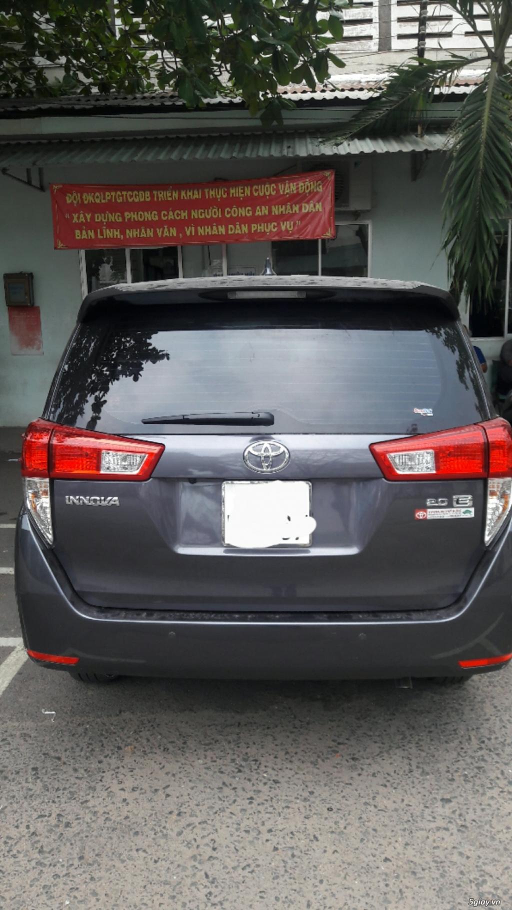 Cho thuê dài hạn Toyota Innova 2018 - 3