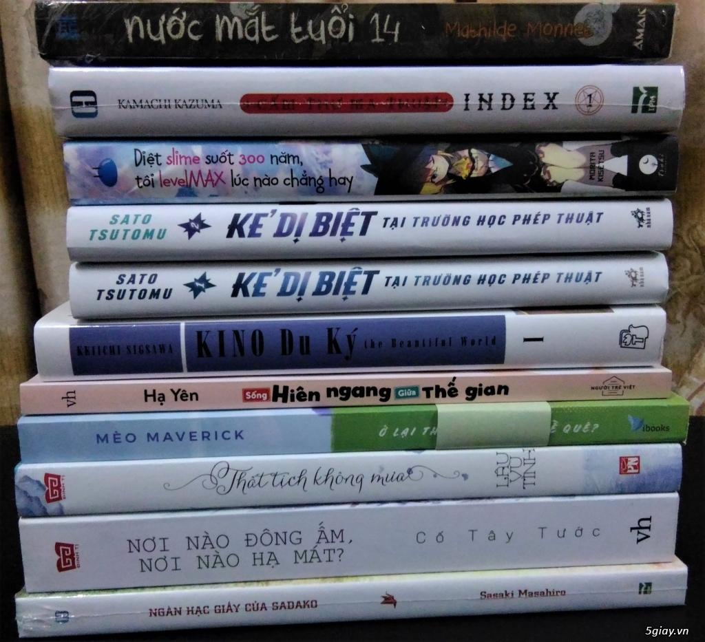 Mình cần bán gấp một số manga giá ưu đãi
