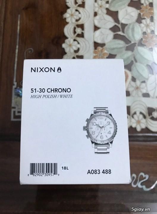 Đồng hồ Nixon, giày adidas ultra boost - 3