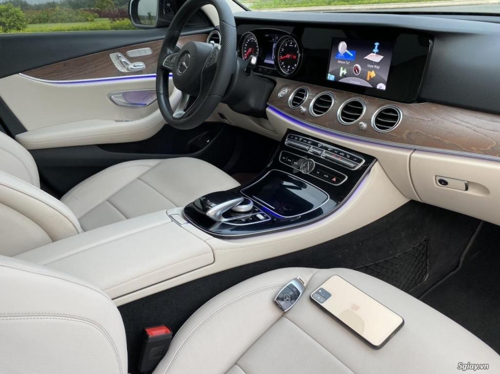 Cần bán xe E200, model 2017, số tự động, màu da lương cực đẹp - 6