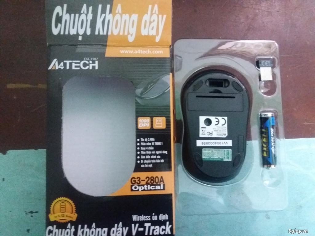 Chuột không dây A4TECH G3-280A CHÍNH HÃNG - 2
