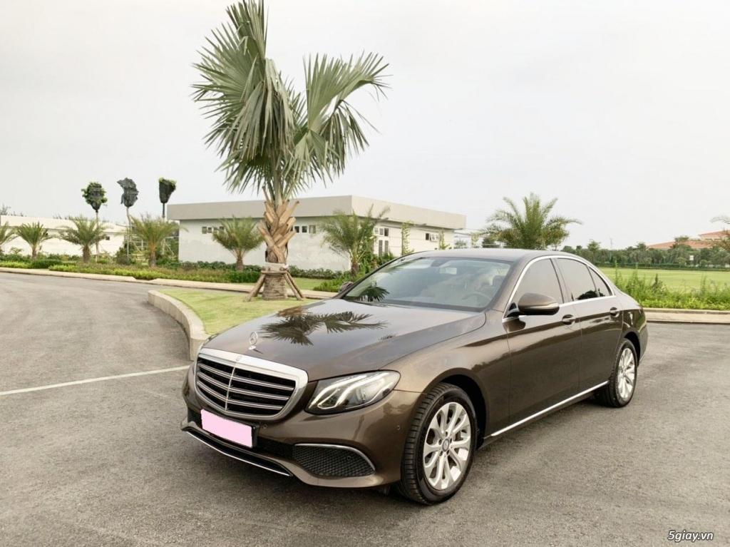 Cần bán xe E200, model 2017, số tự động, màu da lương cực đẹp