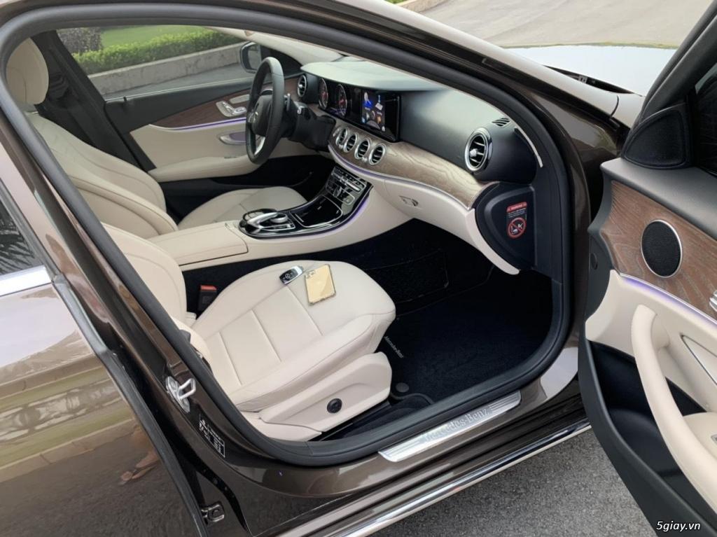 Cần bán xe E200, model 2017, số tự động, màu da lương cực đẹp - 10