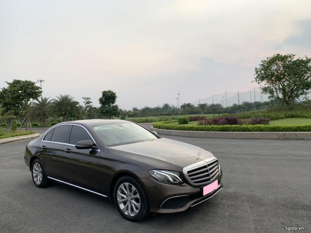 Cần bán xe E200, model 2017, số tự động, màu da lương cực đẹp - 14