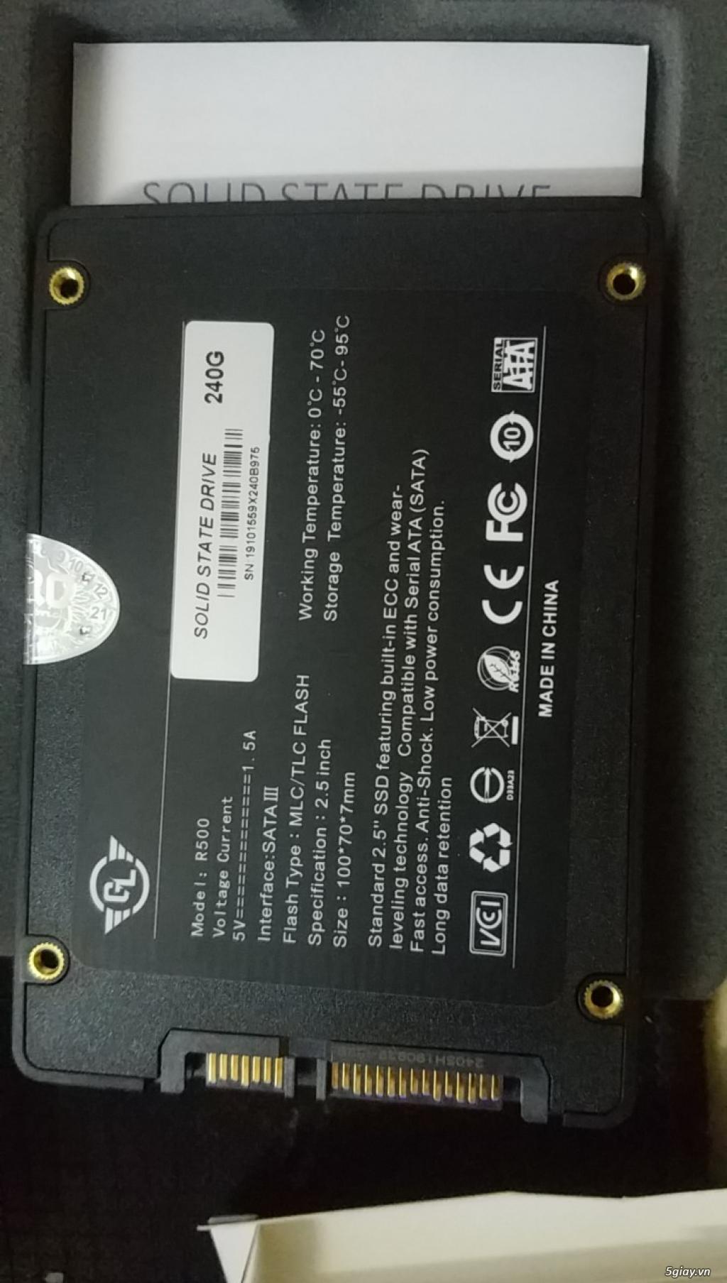 SSD Gloway 120GB-240GB BH 36T - 1