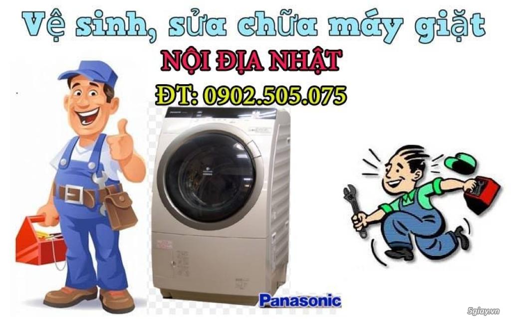 Sửa chữa, vệ sinh máy giặt nội địa Nhật tại HCM