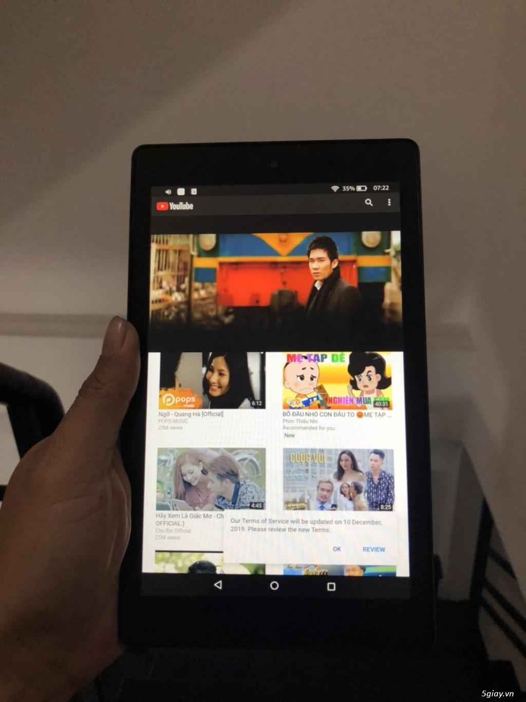 Bán  May tinh Bang 7 inch Amazon 16gb wifi Mới 99% Hang Xt .USA - 2