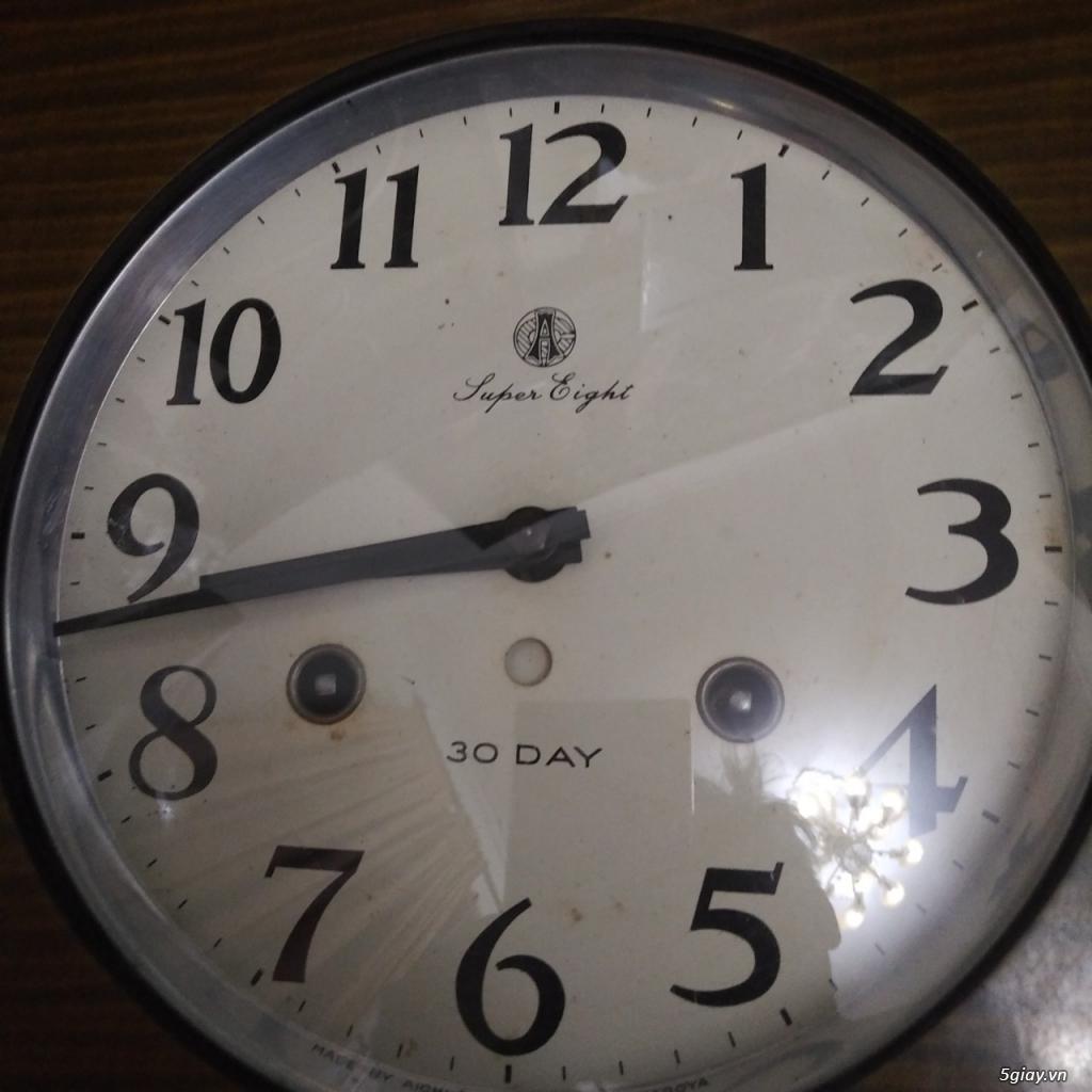 Đồng hồ cổ aichi tokei cót 30 ngày - 3