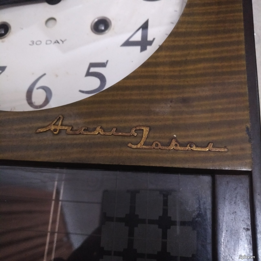 Đồng hồ cổ aichi tokei cót 30 ngày - 2