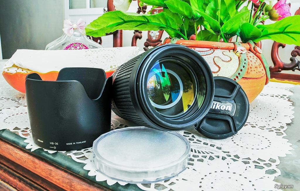Bán lens Nikon 70-300/ 4.5-5.6 VR đẹp - 1