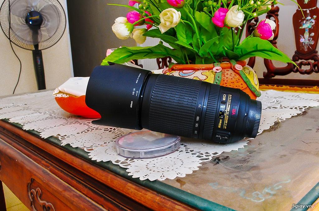 Bán lens Nikon 70-300/ 4.5-5.6 VR đẹp - 3